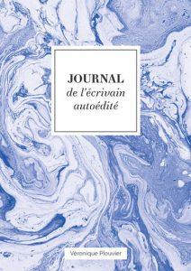 Journal de l'écrivain autoédité bleu