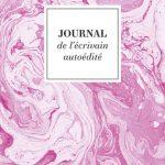 Journal de l'écrivain autoédité rose
