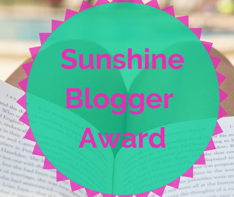 Je suis nominée au Sunshine Blogger Award