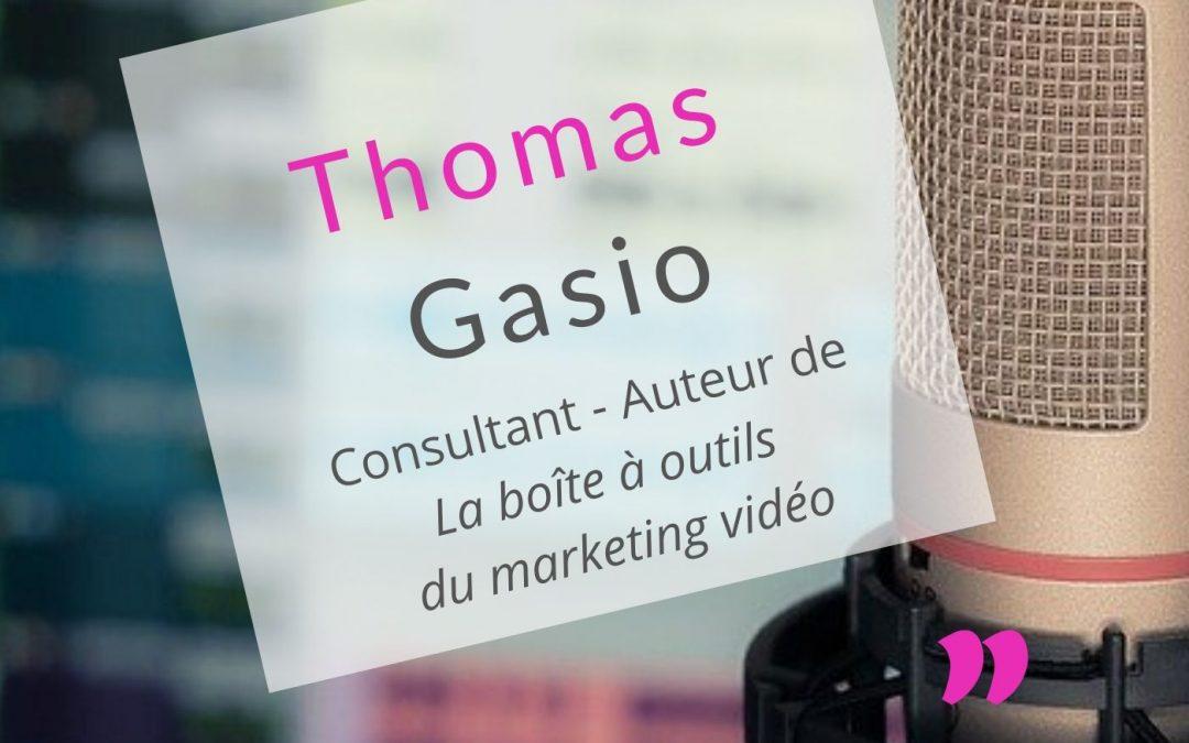 Thomas Gasio » Un livre permet d'étendre son réseau»