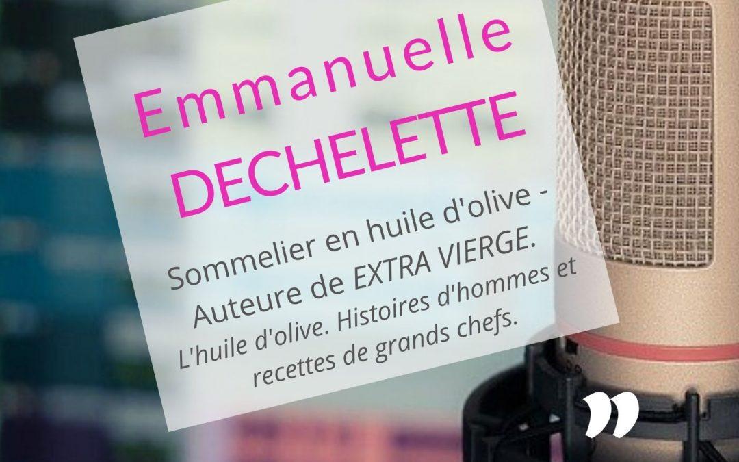 Emmanuelle Dechelette : ce livre m'a permis d'affirmer ma personnalité