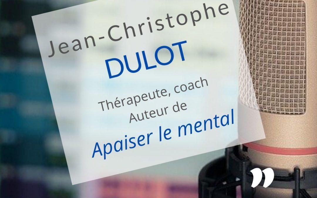 Jean-Christophe Dulot : j'ai transformé ma formation en livre