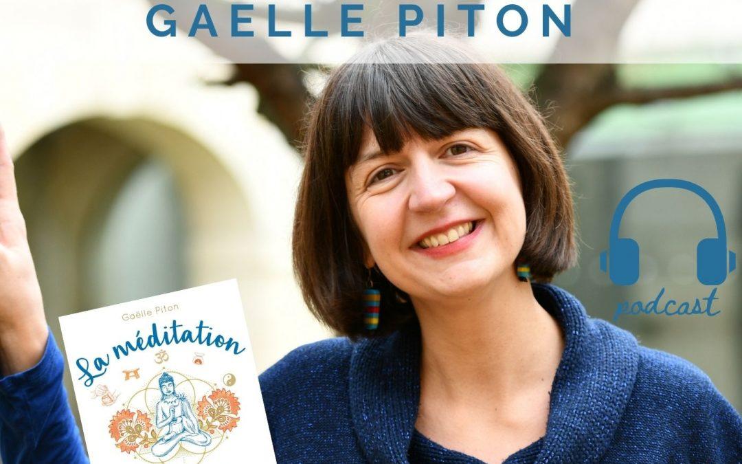 Gaëlle Piton: un livre pour apprendre à méditer