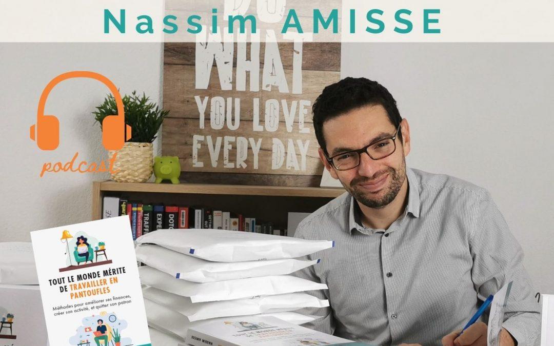 Nassim Amisse : écrire un livre pour être utile